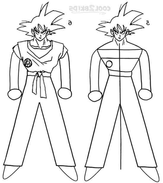 Comment dessiner un Super Saiyan ?